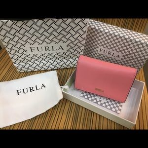 Furla Babylon Small Trifold wallet with box